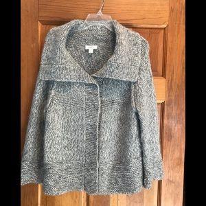 LOFT Grey Wool Sweater